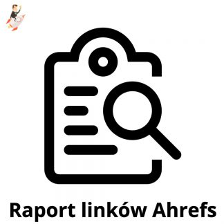 raport linków Ahrefs